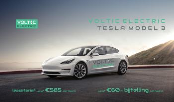 4% bijtelling Tesla Model 3 Standard Range Plus Voltic Electric Lease