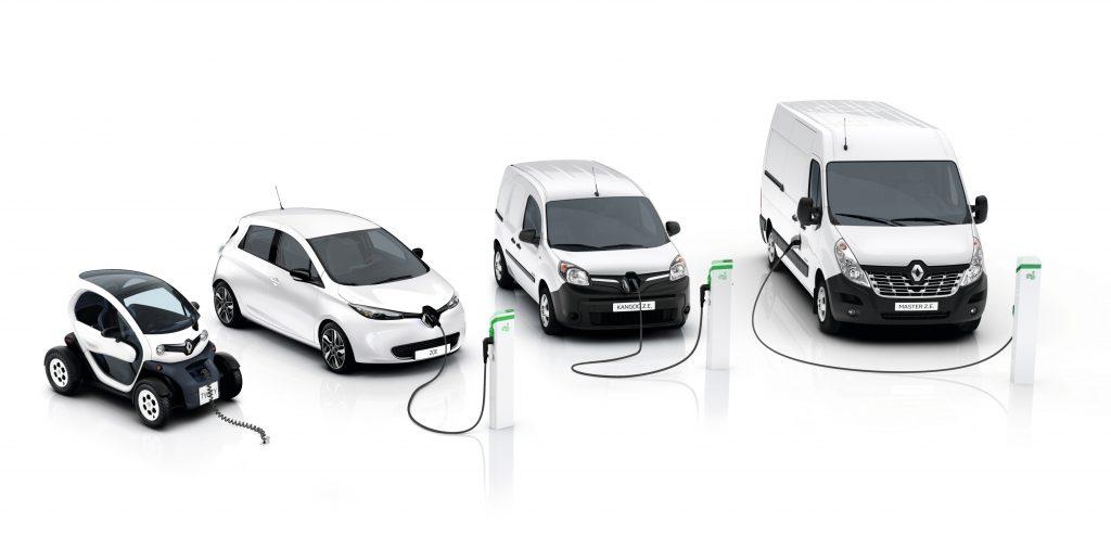 Levertijden Renault Twizy ZOE Kangoo Master ZE Voltic Electric