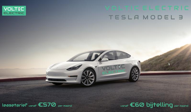 Tesla Model 3 Standard Range Plus Voltic Electric Lease