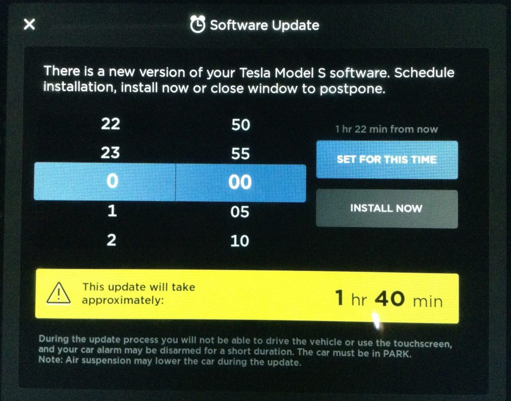 Tesla Tuesday 4 software update v9 Voltic Electric