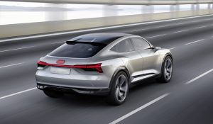 Audi e-tron Sportback concept Voltic Electric Elektrisch Rijden