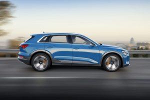 Audi e-tron Voltic Electric elektrisch rijden