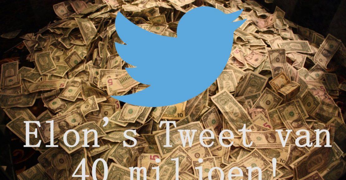 Voltic Tesla Tuesday Tweet van 40 miljoen