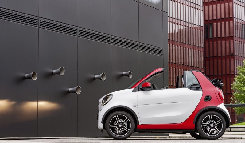 Smart fortwo cabrio electric drive full