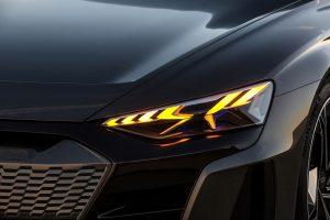 Audi e-tron GT concept Voltic Electric elektrisch rijden