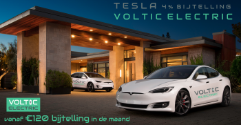 Tesla 4% bijtelling Voltic Electric Lease