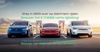 4% bijtelling Tesla Model S en X Supercharger Voltic Electric